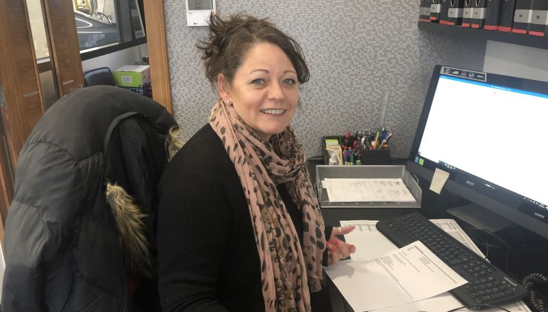Sharon Packman  - Office Manager