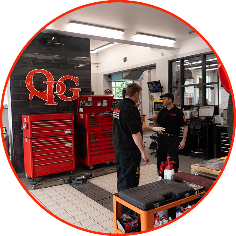 QPG garage workshop