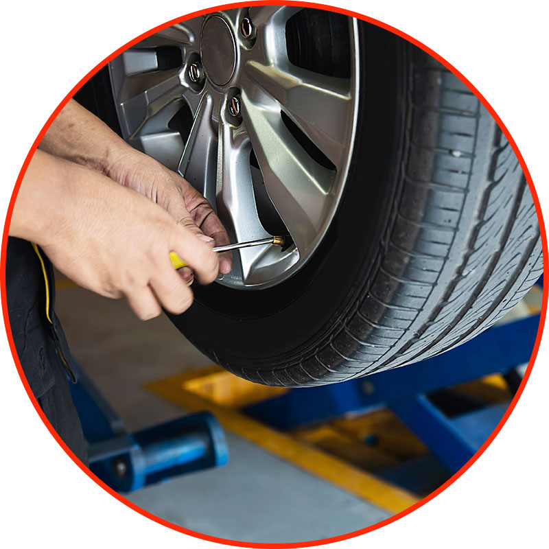 Check Your Tyre Pressure When You Are Not Using the Car